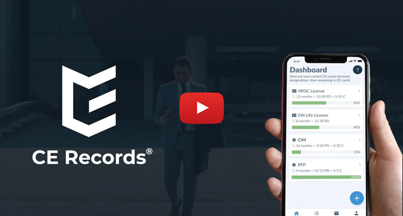 CE Records app video preview thumbnail